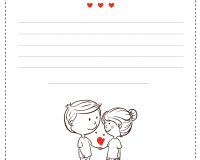 card lovers, couple, heart
